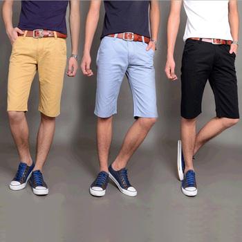2014 новый летний прямо пятый пляжные шорты ультра-тонких моделей для мужчин свободного ...