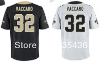 Free shipping Kenny Vaccaro #32 New Orleans Authentic Football Jerseys,Embroidery and stitched Elite American Football jerseys