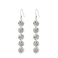 New Arrival,Luxury Naked Austria Crystal Earring,Big Fashion Jewelry Design,Wholesale Jewelry OE54