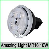 50pcs/lot CREE 12V MR16 10W led spotlight 5*2W 580lm,led ceiling spot lamp led indoor light Warm3000K/Pure4500K/Cool White6000K