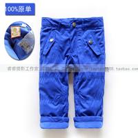 Fashion male fashion trousers casual pants clip winter warm pants straight pants