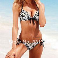 Free Shipping 805764 cheap sexy bathing suits leopard bikini top quality wholesale