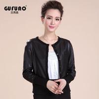2014 NEW Genuine leather jacket women ,  sheepskin coat , outerwear, jackets women,freeshipping