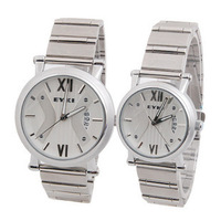 Ikey eyki lovers watch dial brief white collar lovers table spermatagonial l-c w8391g