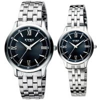 Ikey eyki steel male watch ladies watch lovers watch gift