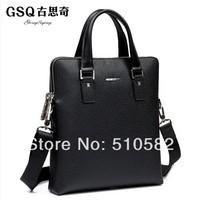 Gsq man business  fashion charm casual leather  bag /shoulder bag /messenger bag /handbag 1009 - 3g