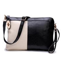 hand bag women clutch purses genuine leather snake small shoulder bag eight kinds of color