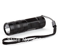 Free Shipping UltraFire WF-602C 3-Mode Cree XR-E Q5 800LM LED Flashlight (1xCR123A)