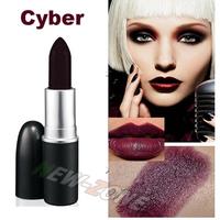 Free Ship Brand Moisture Lipstick Cyber Color 3g Matte Color Lip Stick Party Queen Color