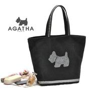 Fashion Casual Brand Cute Dog Women's Canvas Handbag  Women Shoulder Shopping Bag  Freeshipping