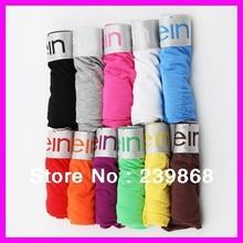 10pcs Hot sale High quality sexy men calvin' shorts men's underwear 100%Cotton M L XLXXLblack stripe Briefs FREE SHIPPING(China (Mainland))