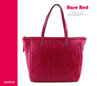 new 2014 women handbag European and American vintage wax leather female header layer of leather leather bag