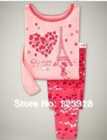new style ,New style baby pajamas kids jumpsuits bodysuit kids sleepwear baby girl pyjamas 6sets/ lot Free shipping