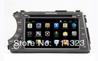 New Android 4.2 Car DVD Player for Ssangyong Kyron with GPS Bluetooth IPOD Radio RDS Dual core 1GB CPU,DDR3,Wifi,Free shipping