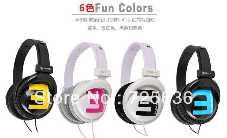original hifi high resolution sound stereo headsets Fashion DJ bass Headphones for computer mp3 game ps3 Series Free Shipping(China (Mainland))