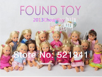 Free Shipping,5pcs/lot 12cm Genuine German SIMBA Kelly Doll NOT pick style Children Gift