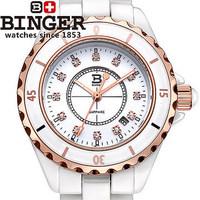 Famous Swiss Brand Luxury Women Quartz 2014 Watches Round Dial White band Wristwatch Gold CZ Diamond watch Free Shipping EMS