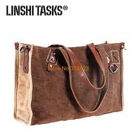 2014 LINSHITASKS canvas shoulder messenger bag leisure bag man bag retro handbags Korean wave packet