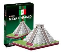 Free shipping 3D Three-dimensional puzzles MAYA PYRAMID C073