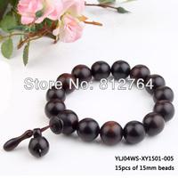 Wholesale Buddhist jujube wood beads lap bracelet Harmes Date wood bead bracelets 6mm 8mm 10mm 13mm 15mm 18mm 20mm Free shipping