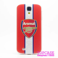 Arsenal Soccer Football hard case For iphone 5 5S 4 4S For Samsung Galaxy S3 S4 I9300 I9500 N7100 N9000