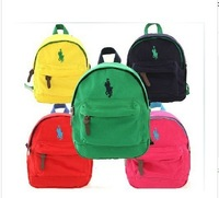 Free shipping 2014 Korean version of the new the arrival baby backpack Boys girls candy-colored bags Kindergarten bags 4 colors