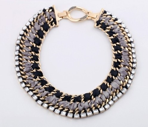 Fashion Chunky Necklaces Women Fashion Chunky