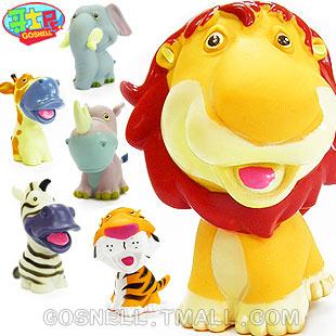 Cartoon animal wild model toys lion doll tiger dolls child gift(China (Mainland))