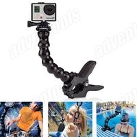 2014 New Arrival Flex  Jaws Clamp Mount for GoPro Hero Hero4 / 3+ / 3 / 2 / 1 /SJ4000/SJ5000