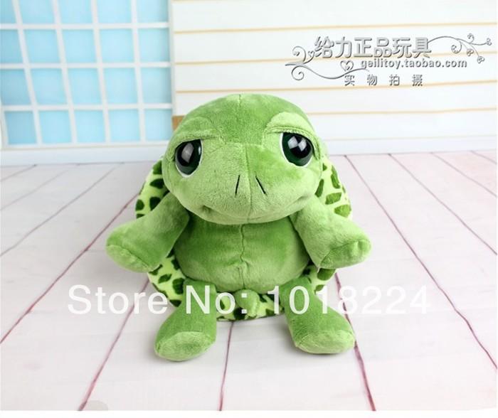 Free shipping 2014 new cute big eyes small turtle tortoise doll stitch plush toys girls dolls baby turtle toy Christmas gift 1PC(China (Mainland))