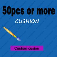 50PCS OR MORE CUSTOMIZE Cushion DIY cushion COVER Custom cushion for  Home Decor sofa  cushions 50PCS or more Free shipping!