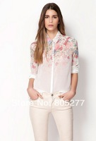 Женские блузки и Рубашки Women's blouse embroided XXXL VNS001