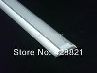 5m/Lot Free shipping 3006 aluminum profile  for width up to 13mm led strips for garden livingroom bathroom kitchen led lighting