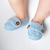 Davebella spring and autumn baby shoes toddler shoes soft outsole 100% cotton handmade princess baby non-slip shoes
