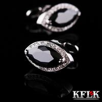 Kflk cufflinks cuff french nail sleeve cufflinks male 1640