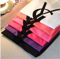 Women's T-shirt  2014 New Unisex Brand T shirt  Flocking letters T shirt men  Long-sleeved T-shirt female Couple T shirt