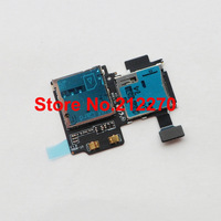 Original New SD Card Reader SIM Card Tray Holder Slot Flex Cable For Samsung Galaxy S4 i9500