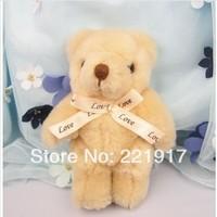 Plush toy bear teddy bear cartoon bouquet joints doll doll spot 13 cm valentine's day