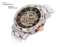 New Orkina men mechanical hand wind skeleton male watch  Brand Watches  best gift,free shipping