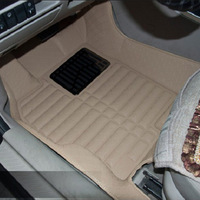 2014 car floor mat full set for VOLVO Beige, Gray, Brown, Black