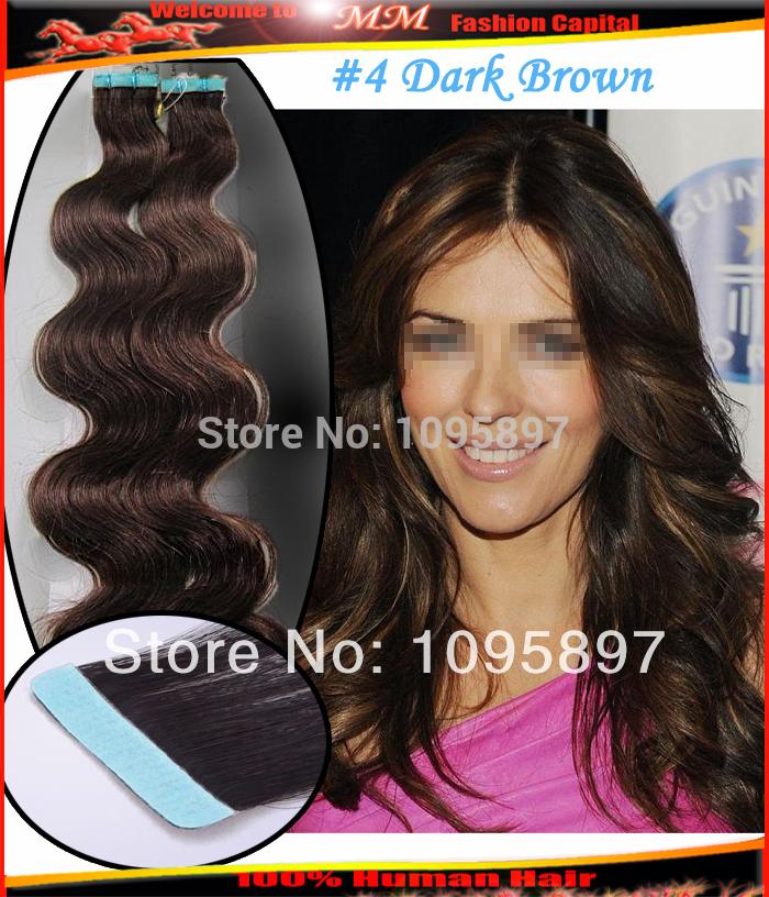 ... hair-body-wave-PU-skin-weft-tape-hair-extensions-4-dark-brown-22-24