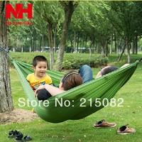 Ultra-light outdoor hammock parachute fabric single hammock  double hammock