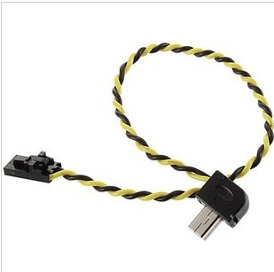 Gopro hero 3 Video Output Line FPV Gopro hero3 AV Video Real-time Output Cable for 5.8G Transmitter(China (Mainland))