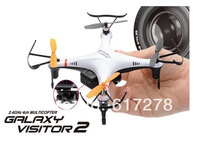 2014 Nine Eagles Galaxy Visitor 2 4CH RC Quadcopter RTF 2.4GHz with High-Quality Camera Just like DJI Free Shipping girl toy