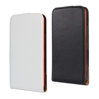 Wholesale 10pcs Genuine Real Leather Cases Cover Skin for Nokia Lumia 1320 Flip Magnetic Vertical Leather Case Black White