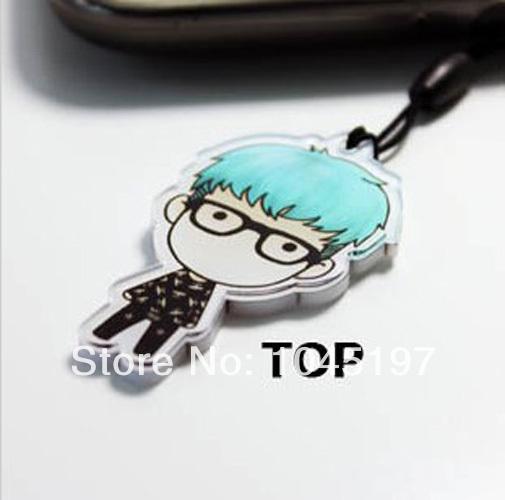BIGBANG GD G-DRAGON KPOP Phone Strap charm NEW TOP(China (Mainland))