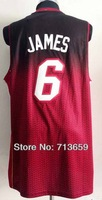 Miami #6 Fashion Rev 30 basketball jersey,Cheap sports jersey,Free Shipping,embroidery logos,Accept Mix Order