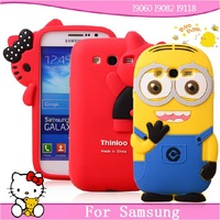 For samsung i9060 mobile phone case  for SAMSUNG i9060 i9082 i9118 shell protective case silica gel sets