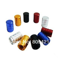 Whole Sale 1000pcs/lot Aluminum Wheel Tyre Tire Valve Stems Air Dust Cover Screw Caps for Car Truck Bike Free Shipment