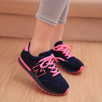 2014 spring women's sneaker shoes single shoes net fabric shoes low-top shoes jogging shoes